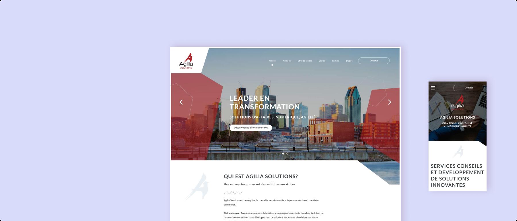 Agilia solutions